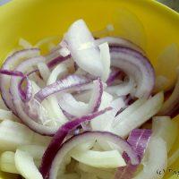 Salata cu ciuperci si ardei…