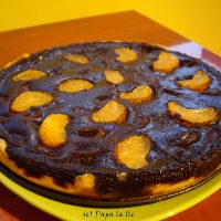 Tarta cu ciocolata si mandarine…