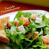 Salata cu somon afumat…