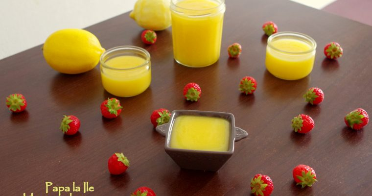 Lemon curd…