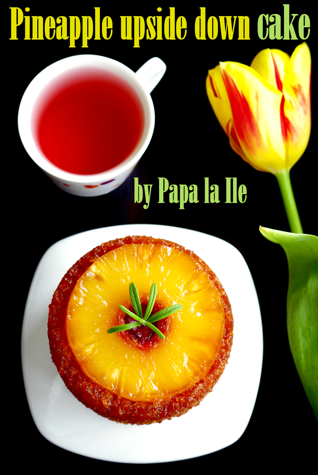 Pineapple upside down cake…
