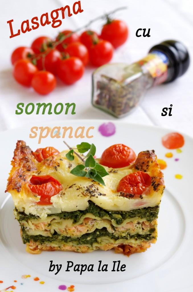 Lasagna cu somon si spanac (10)