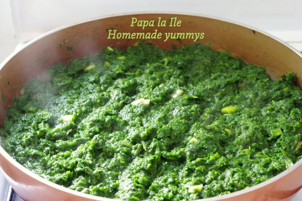Lasagna cu somon si spanac (3)