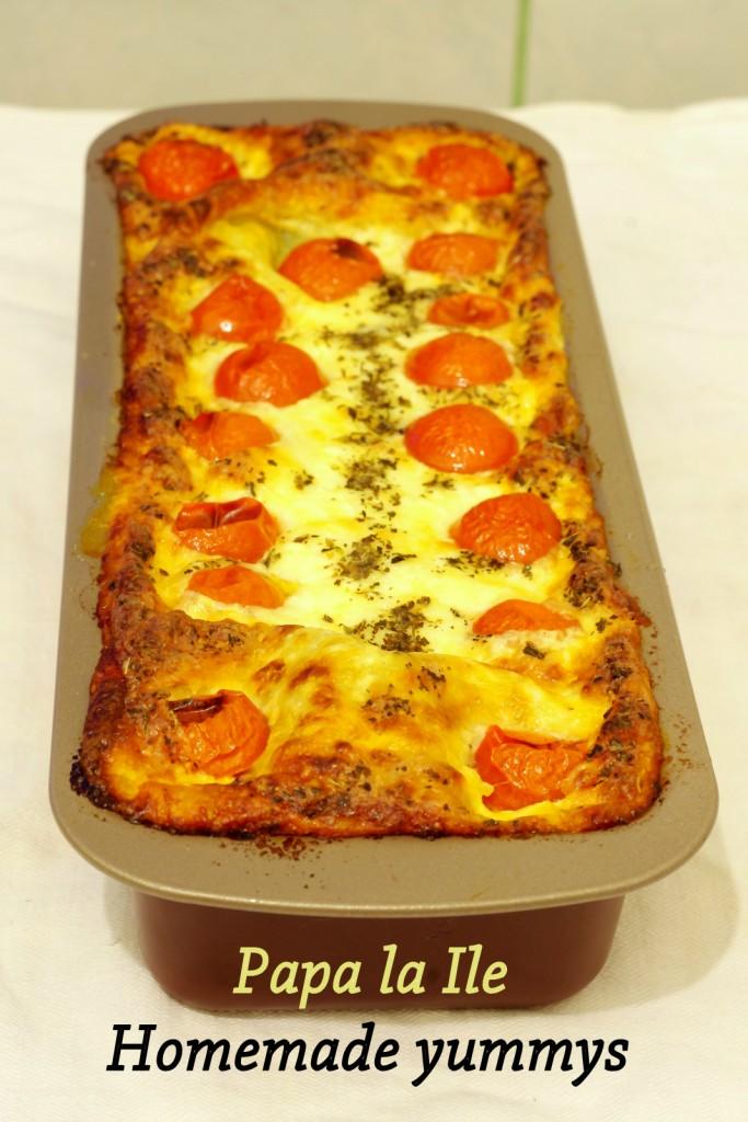 Lasagna cu somon si spanac (7)
