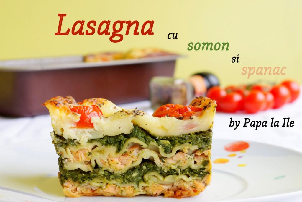 Lasagna cu somon si spanac (8)