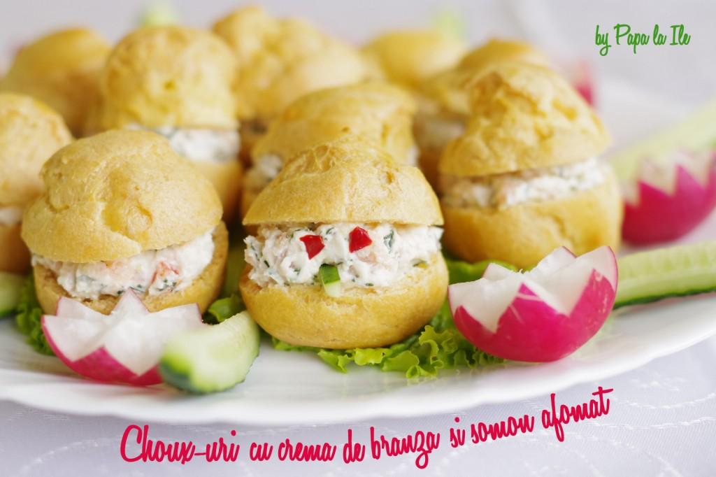 Choux-uri cu crema de branza si somon afumat (11)