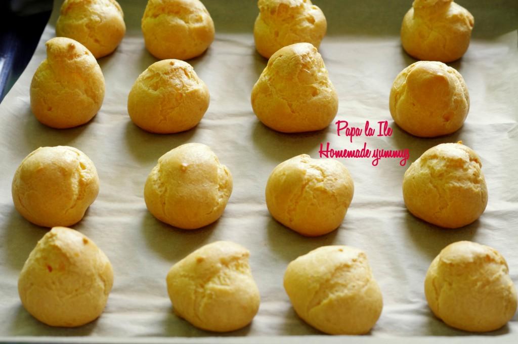 Choux-uri cu crema de branza si somon afumat (8)