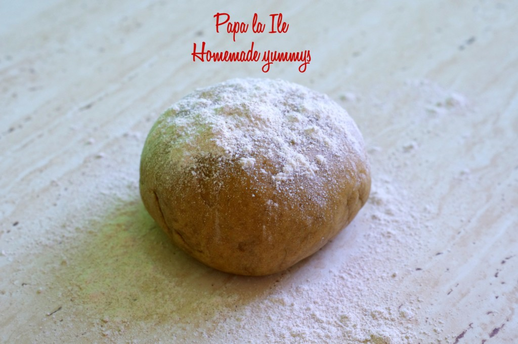 Tagliatelle de casa cu pesto de leurda, pleurotus si rosii cherry (3)