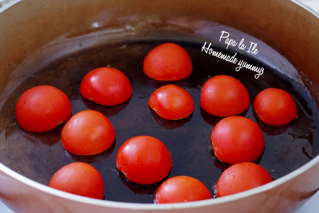 Tagliatelle de casa cu pesto de leurda, pleurotus si rosii cherry (7)