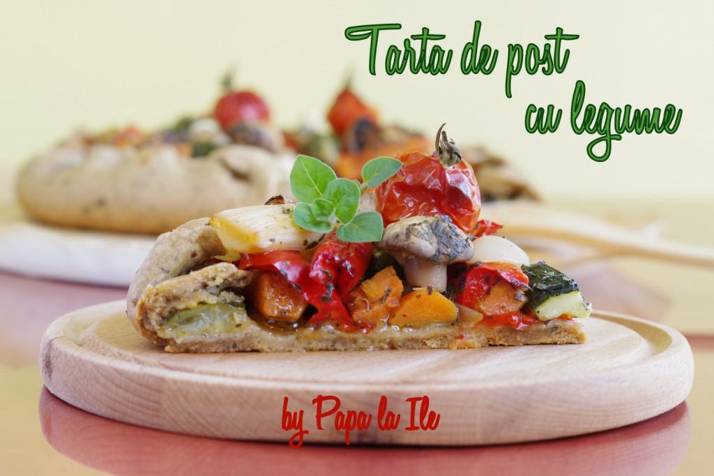 Tarta de post cu legume (1)