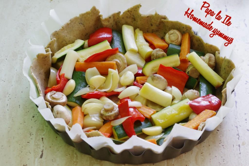 Tarta de post cu legume (7)