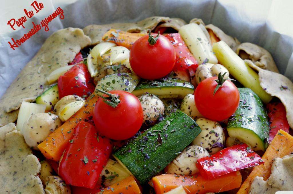 Tarta de post cu legume (8)