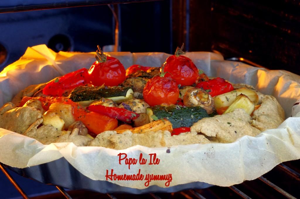 Tarta de post cu legume (9)