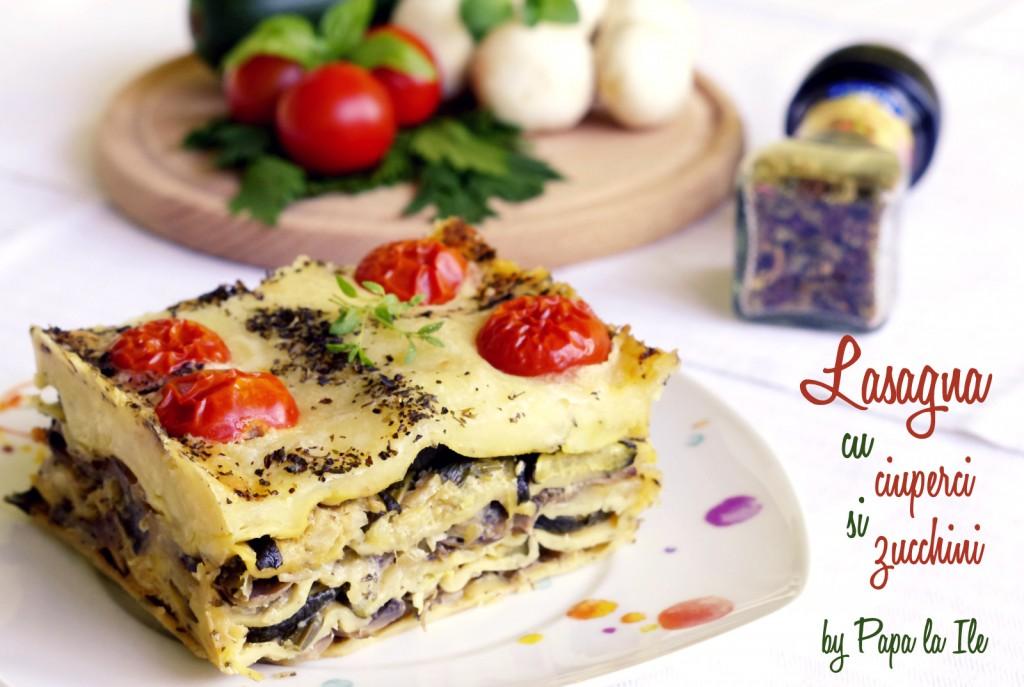 Lasagna cu ciuperci si zucchini (14)