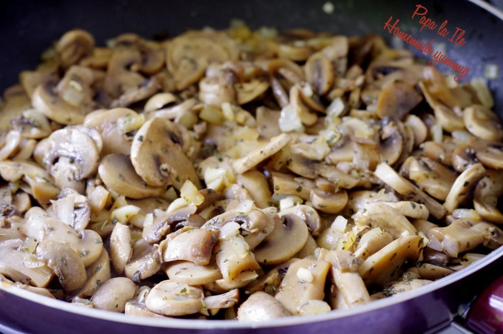 Lasagna cu ciuperci si zucchini (5)