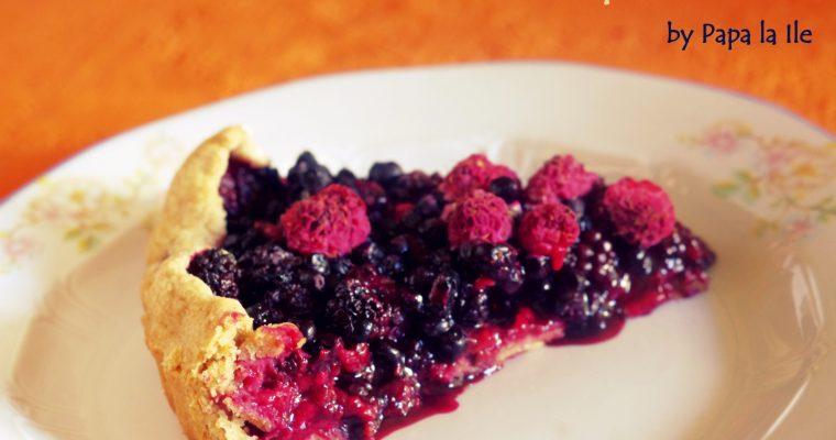 Tartă cu fructe de pădure…