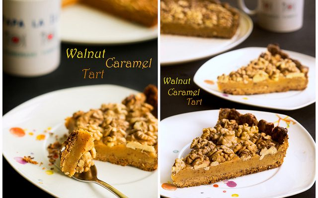 Walnut Caramel Tart