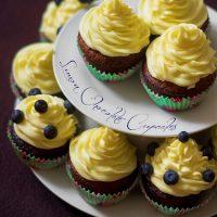 Lemon Chocolate Cupcakes…