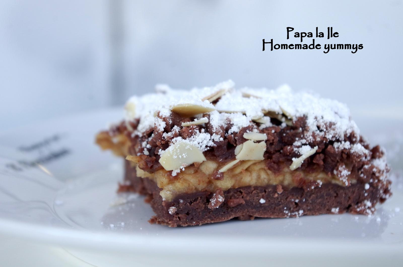 Prăjitură cu mere și cacao…
