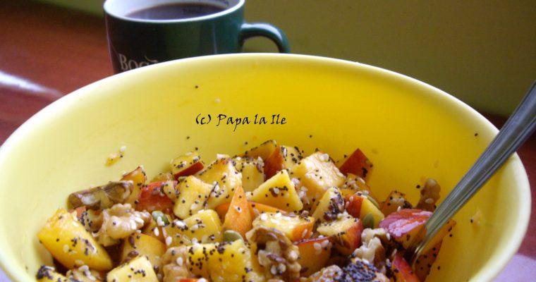 Nectarine cu seminte…