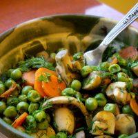 Mazare cu morcovi si ciuperci…