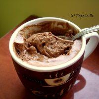 Spuma de ciocolata si lamaie…