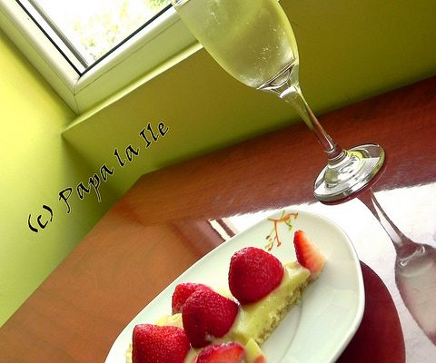 Tartă cu căpșuni…