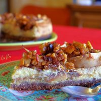Apple Cheesecake… sau cheesecake de toamna…