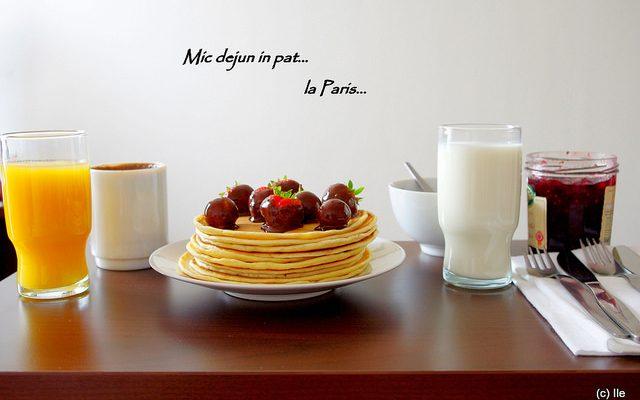Mic dejun… la Paris…