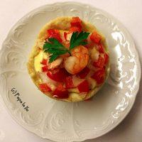 Mini tarte cu creveți și sos de usturoi (1)…