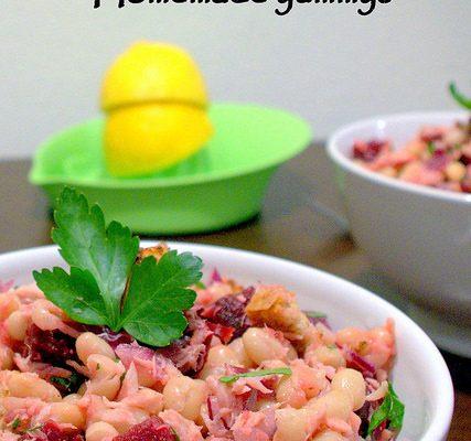 Salată cu fasole boabe și ton…