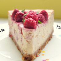 Cheesecake cu zmeură…