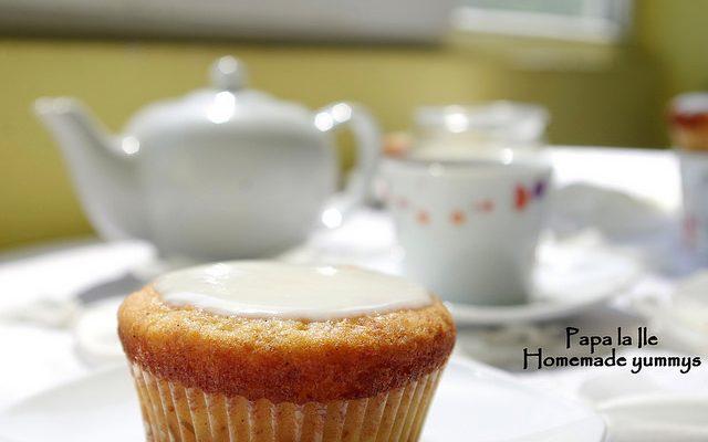 Lemon cupcakes…