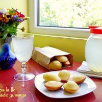 Madlene cu miere și lime…