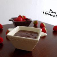 Ganache au chocolat…