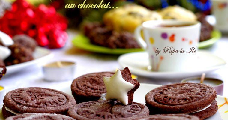 Sablés au chocolat… biscuiti cu cacao