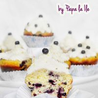 Blueberry Lemon Cupcakes…