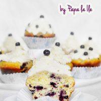 Blueberry Lemon Cupcakes…