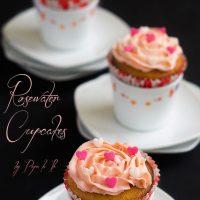 Rosewater cupcakes…