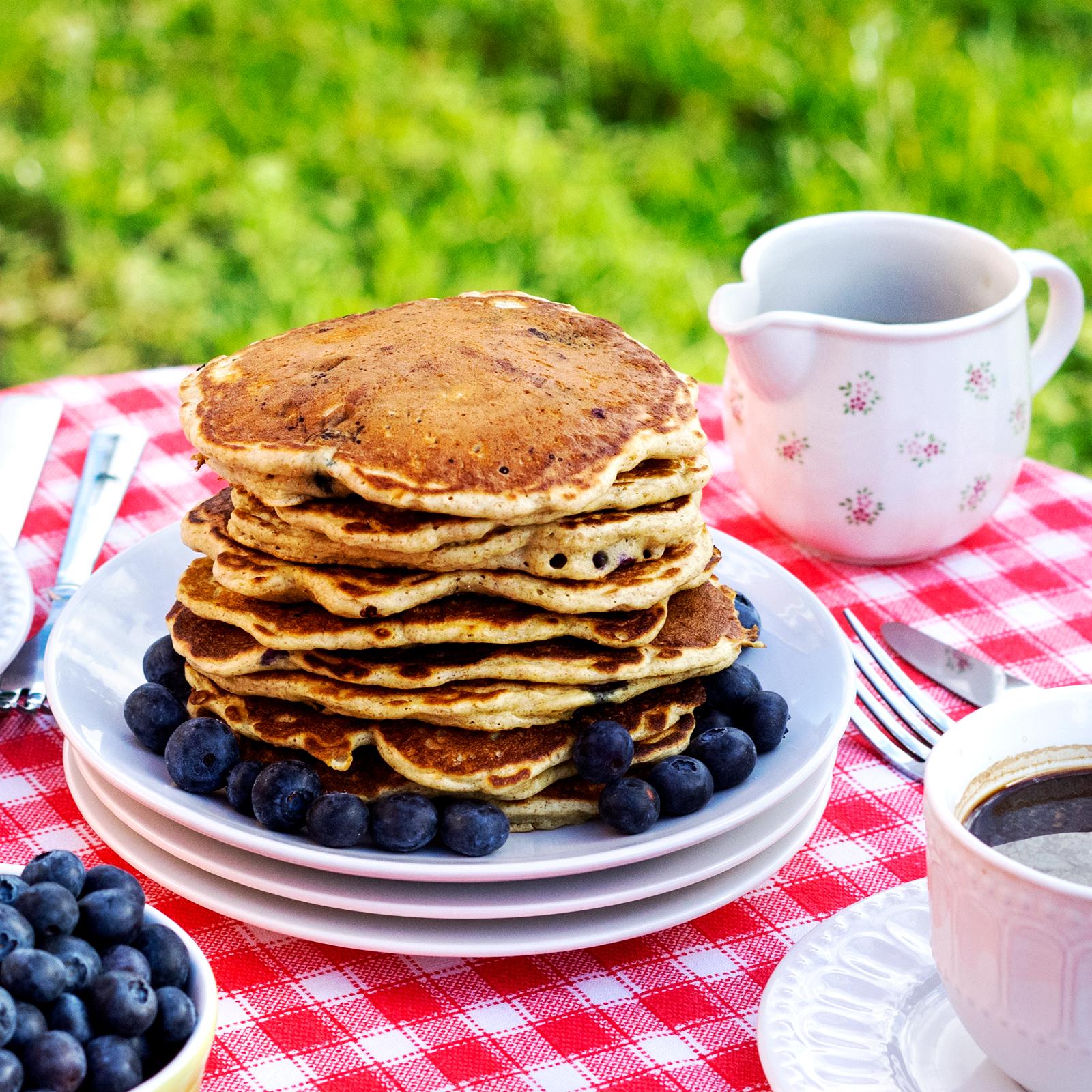Pancakes cu afine…